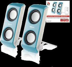 Produktfoto Trust 16166 Portable Notebook Speaker BLUE