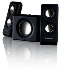 Produktfoto Verbatim 49092 2.1 Multimedia Portable Speaker System