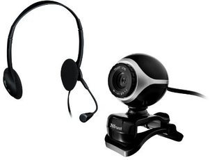 Produktfoto Trust EXIS Chatpack Headset-MIC-CAM