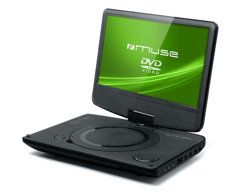 muse m 970 dp tragbarer dvd player tests erfahrungen im. Black Bedroom Furniture Sets. Home Design Ideas