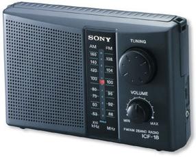Produktfoto Sony ICF 18