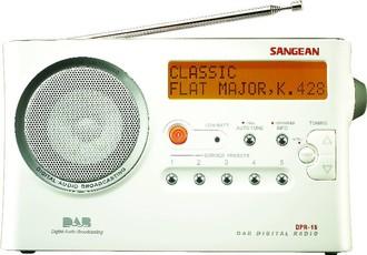 Produktfoto Sangean DPR 215
