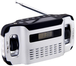 Produktfoto POWERplus LYNX WIND UP Radio