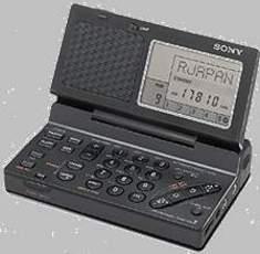 Produktfoto Sony ICFSW100 S MIT- Zubehoer