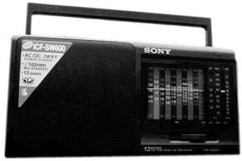 Produktfoto Sony ICFSW600