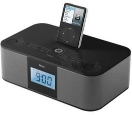 Produktfoto Trust SP-2991IB Alarm Clock Radio FOR iPod (15609/15610)