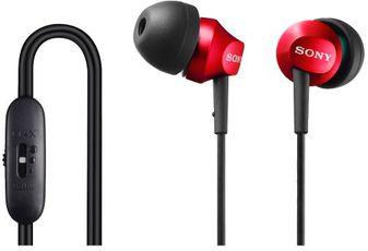 Produktfoto Sony MDR-EX58V RED