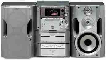 Produktfoto Sony MHC-ZX 10