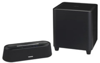 Produktfoto Toshiba PA5075E-2SPA MINI 3D Soundbar II Wireless Subwoofer