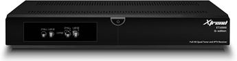 Produktfoto XTREND ET 10000 HD 2XDVB-S2 / 1XDVB-C