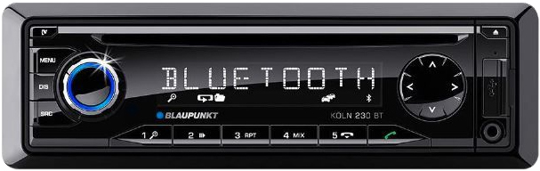 blaupunkt k ln 230 bt autoradio tests erfahrungen im. Black Bedroom Furniture Sets. Home Design Ideas