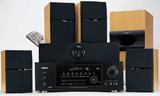 Produktfoto Receiver-Set mit Lautsprechern