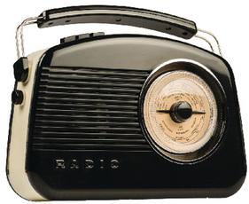 Produktfoto König Electronic Retro HAV-TR900 BL