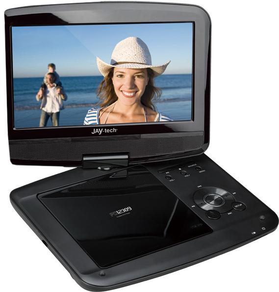 jay tech pd12309 tragbarer dvd player tests erfahrungen. Black Bedroom Furniture Sets. Home Design Ideas