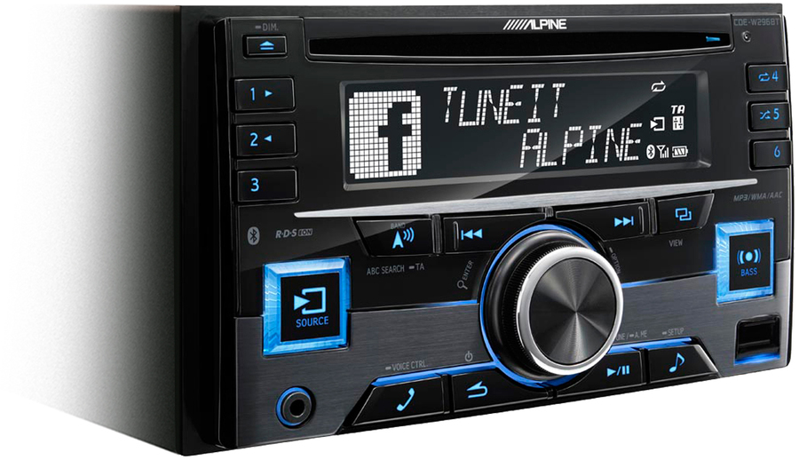 alpine cde w296bt autoradio tests erfahrungen im hifi forum. Black Bedroom Furniture Sets. Home Design Ideas