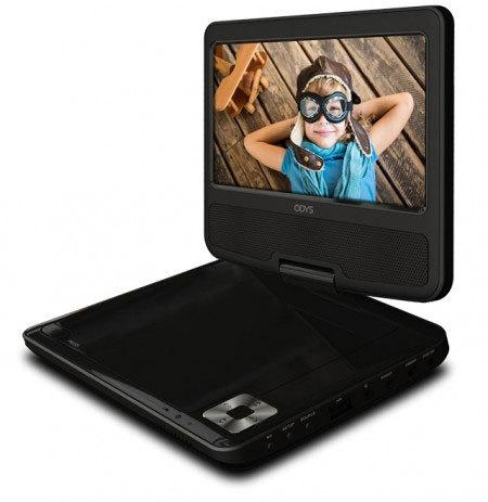 odys tara tragbarer dvd player tests erfahrungen im. Black Bedroom Furniture Sets. Home Design Ideas